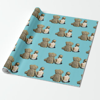Baby and Teddy Bear Gift Wrap