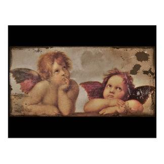 Baby Angels by Raphael Postcard