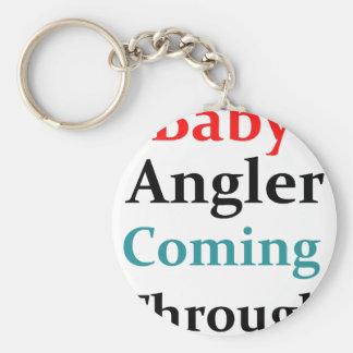 Baby Angler Coming Through Keychain