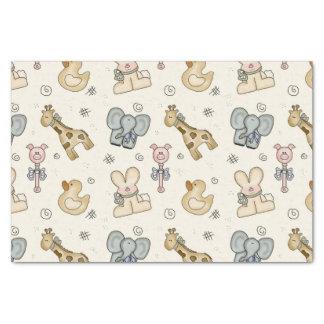 Baby Animal Elephant Pig Duck Giraffe Tissue Paper