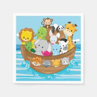 Baby Animals | Noah's Ark Disposable Napkin