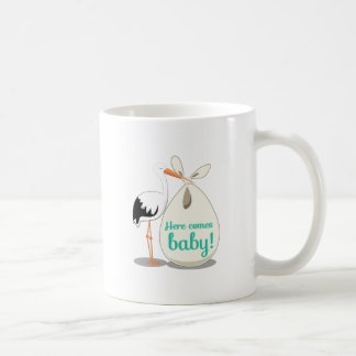 Baby Announcement Coffee Mug