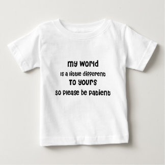 Baby, Autism, Aspergers, Special Needs Awareness Baby T-Shirt
