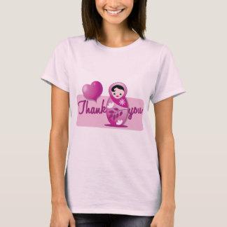 baby babushka thank you T-Shirt