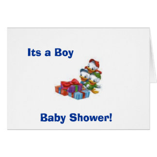 baby, Baby Shower!, Its a Boy Greeting Card