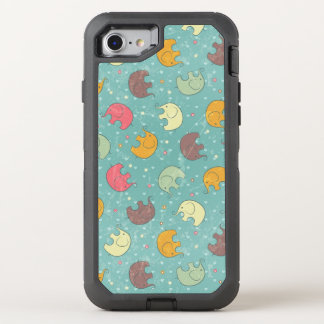 baby background OtterBox defender iPhone 8/7 case