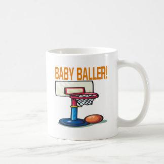 Baby Baller Basic White Mug