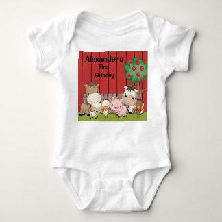 Baby Barnyard Buddies Infant Creeper