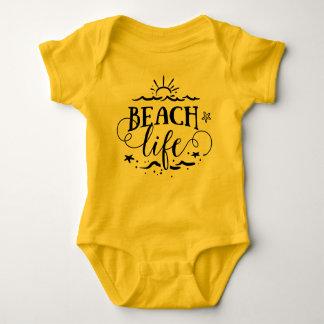 Baby Beach Life Baby Bodysuit