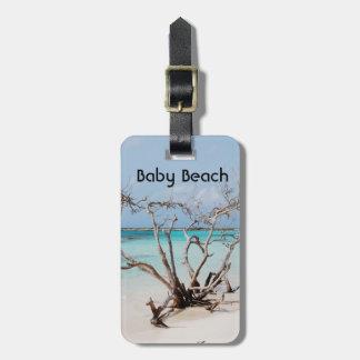 Baby Beach Luggage Tag