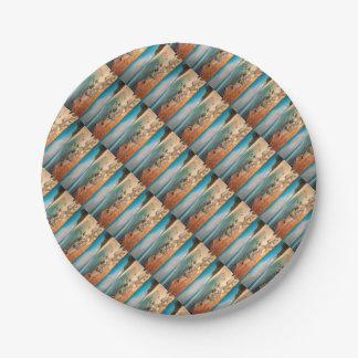 Baby Beach Maui Paper Plate