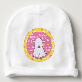 Baby Beanie Gift/Lambie Pie Pink/Yellow