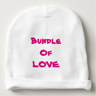 "Baby Beanies Infant Beanie Newborn Beanies ""LOVE"" Baby Beanie"