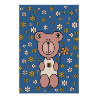 "Baby Bear 01 (52"" x 78"") Posters"