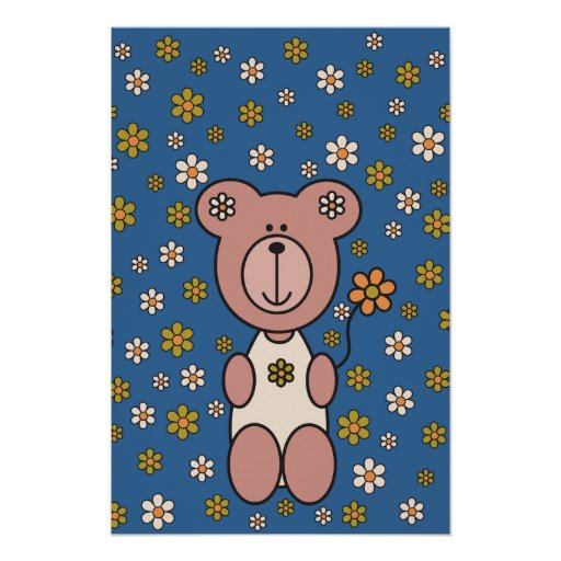 """Baby Bear 01 (52"""" x 78"""") Posters"""