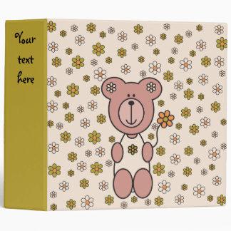 Baby Bear 01 Vinyl Binders