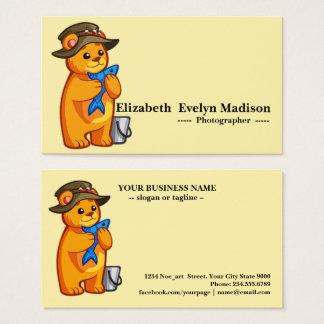 Baby bear 01 business card