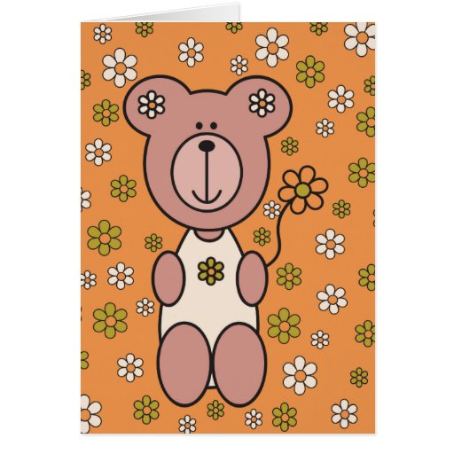Baby Bear 01 Cards