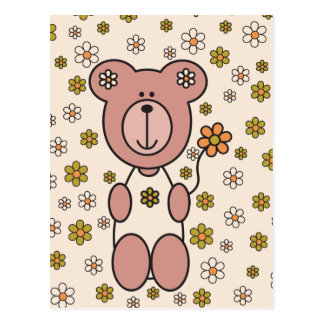 Baby Bear 01 Postcard
