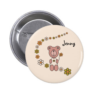 Baby Bear 02 Pinback Buttons