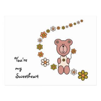 Baby Bear 02 Postcard