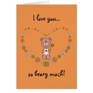 Baby Bear 03 Greeting Card