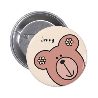 Baby Bear 04 2 Inch Round Button