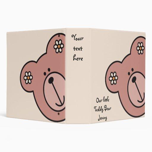 Baby Bear 04 Vinyl Binder