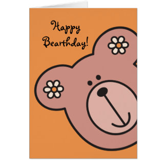 Baby Bear 04 Greeting Card