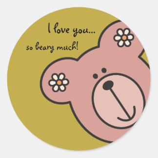 Baby Bear 04 Stickers