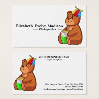 baby bear 05 business card