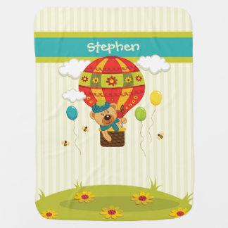 Baby Bear Ballooning Blanket Swaddle Blankets