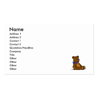 Baby Bear Business Card