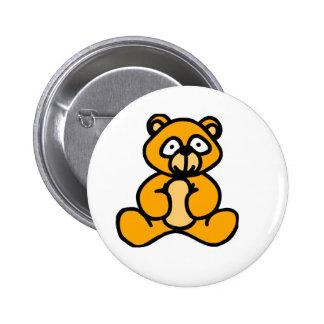 Baby bear cartoon buttons