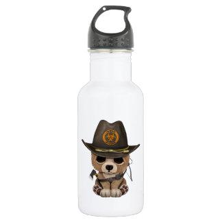 Baby Bear Cub Zombie Hunter 532 Ml Water Bottle
