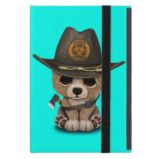 Baby Bear Cub Zombie Hunter Cover For iPad Mini