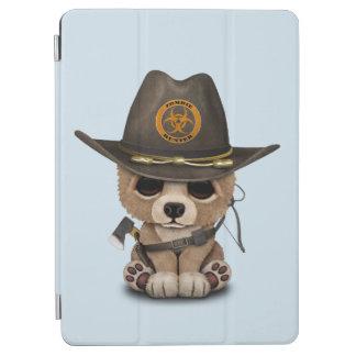 Baby Bear Cub Zombie Hunter iPad Air Cover