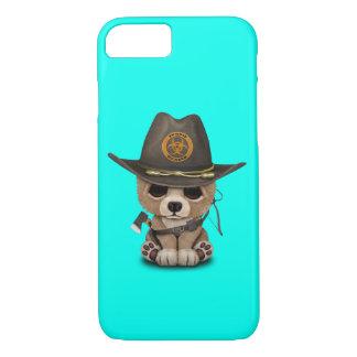 Baby Bear Cub Zombie Hunter iPhone 8/7 Case