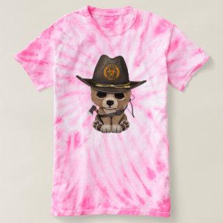 Baby Bear Cub Zombie Hunter T-shirt