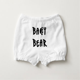 Baby bear diaper cover