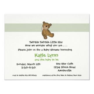 Baby Bear Invitation