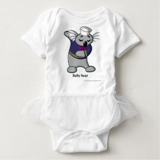 Baby Bear Koala from Children's Book Baby Bodysuit