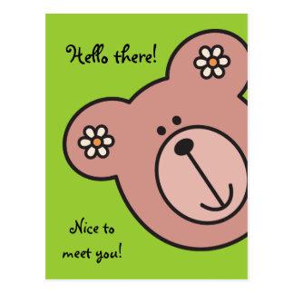 Baby Bear Post Card