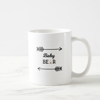 Baby Bear with Arrows Coffee Mug