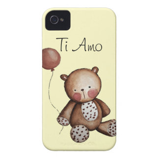 Baby Bear with Balloon Blackberry Case