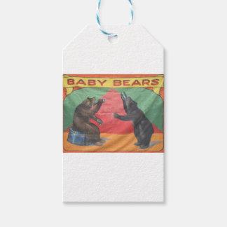 Baby Bears Gift Tags