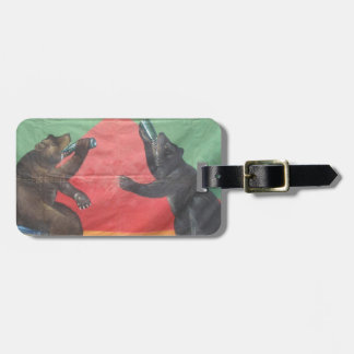 Baby Bears Luggage Tag