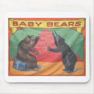 Baby Bears Mouse Pad