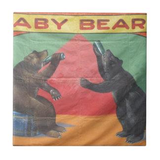 Baby Bears Tile