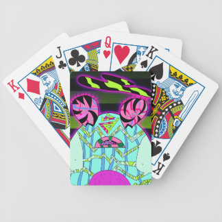 Baby Belly Bicycle Playing Cards